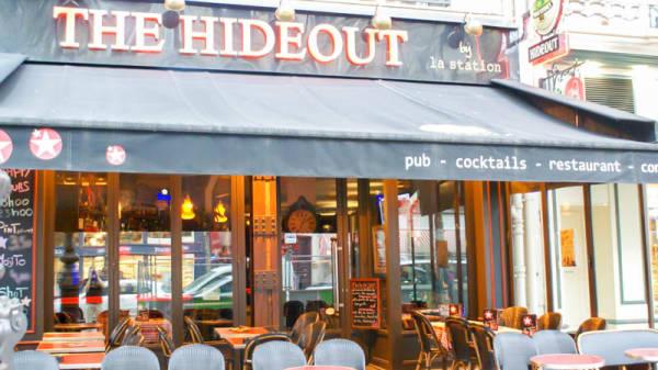 Entrée - The Hideout - Gare du Nord, Paris