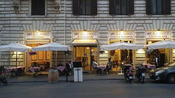 Miscele e Fuoco, Roma