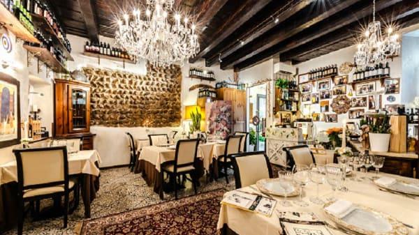 Veduta dell'interno - La Vecia Mescola, Verona