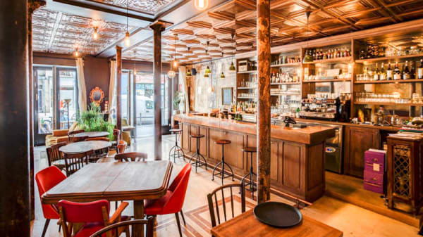 Salon du restaurant - Les Entretiens, Paris