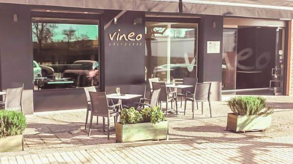 Vista terraza - Vineo Gastrobar, Blanes