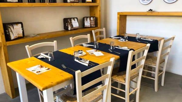 Vista sala - Grani in pasta, Caltanissetta