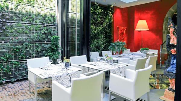 terrasse - La Table du Gourmet, Riquewihr