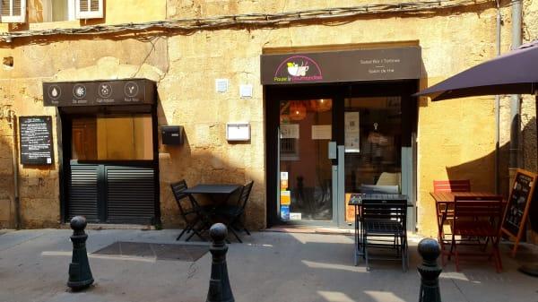 Entrée - Pause et Gourmandises, Aix-en-Provence