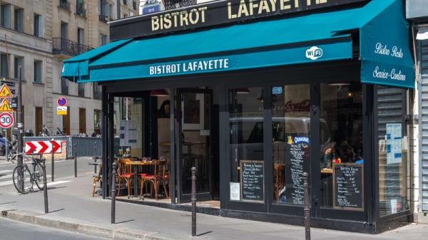 Devanture - Bistrot Lafayette, Paris