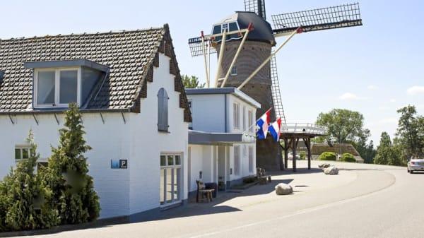 Ingang - De Korenmolen Maasbommel, Maasbommel