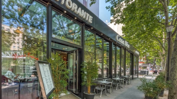 Vue de la terrasse - Casa Déa, Paris