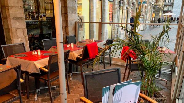 Terrasse chauffée - La Houblonnière, Lille