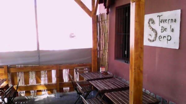 Terraza - La taverna de la serp, Sagunt