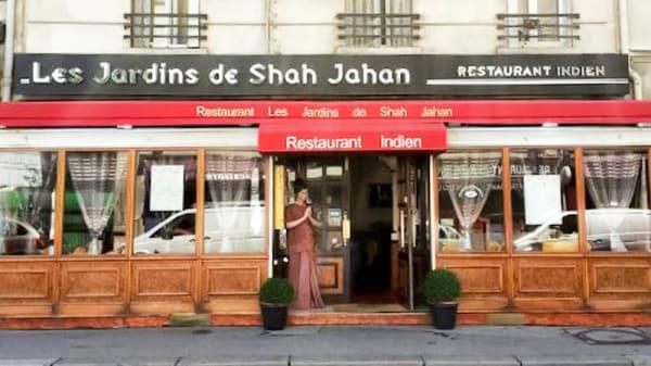 Vue façade - Les Jardins de Shah Jahan, Paris