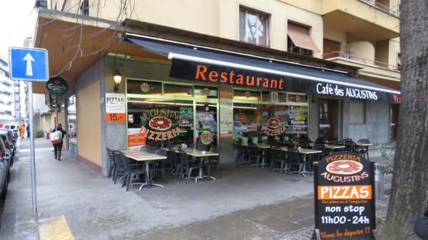 Devanture - Café des Augustins, Genève