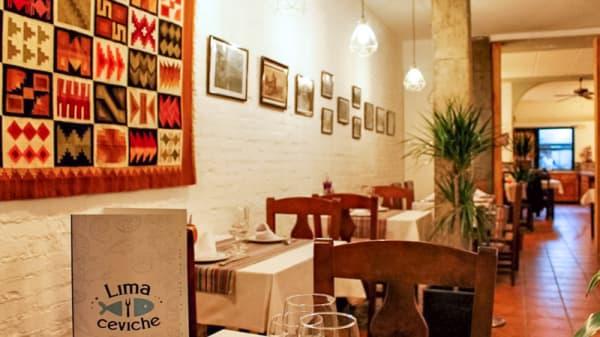 Sala del restaurante - Lima y Ceviche, Madrid