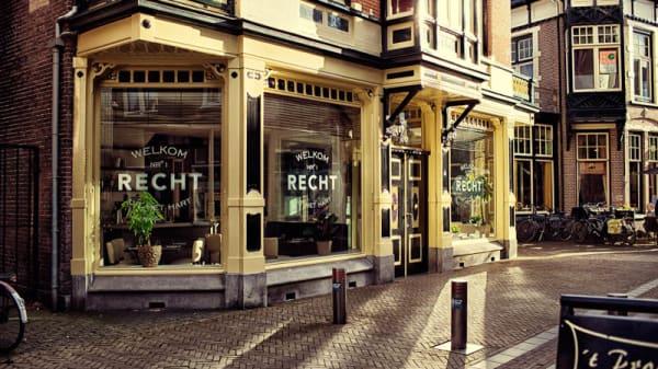 ingang - Restaurant Recht, Apeldoorn