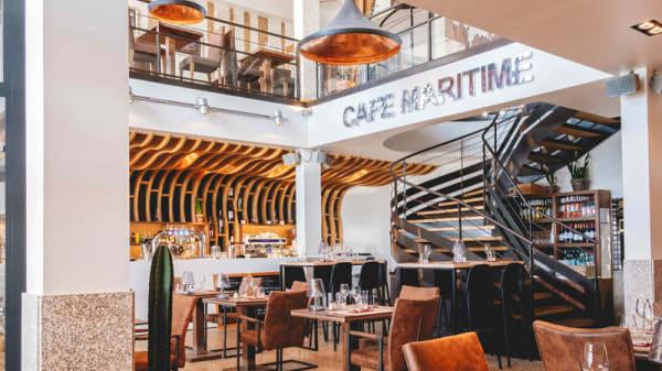 Salle du restaurant - Café Maritime Lacanau, Lacanau