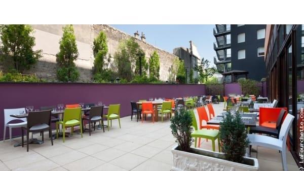 Vue de la terrasse 3 - Lounge Royal, Paris