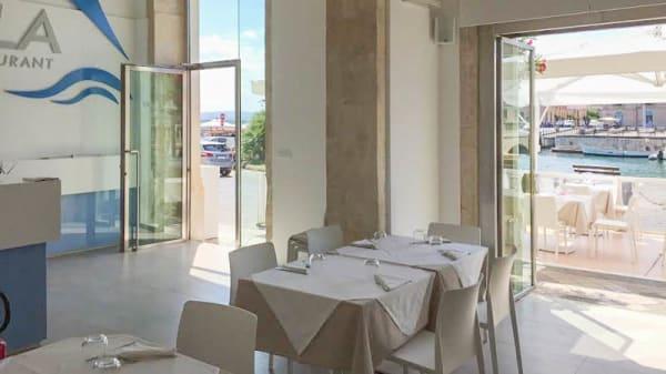 Vista sala - La Vela Restaurant, Siracusa