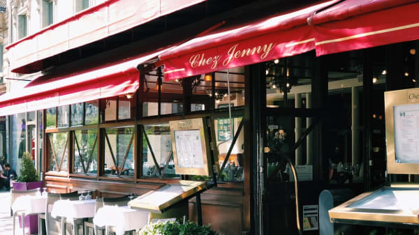 Terrasse - Chez Jenny, Paris