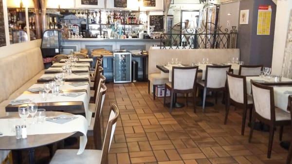 Salle du restaurant - Bistrot Rouguiere, Cannes