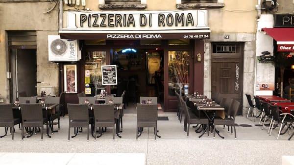 Vue devanture - Pizzeria di Roma, Grenoble