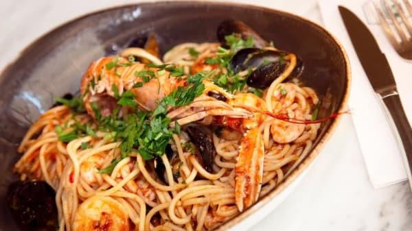 Yummy pasta. - La Piccola Gondola, Göteborg