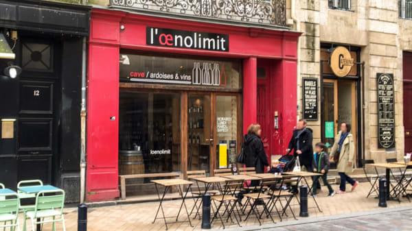 La Devanture - L'Oenolimit, Bordeaux