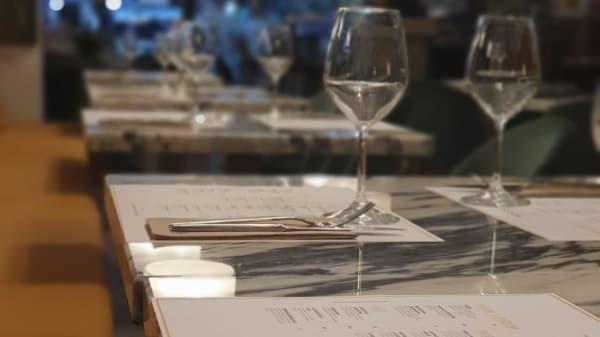 Detalle de la mesa - Boccaccio Ristorante Italiano, Valencia