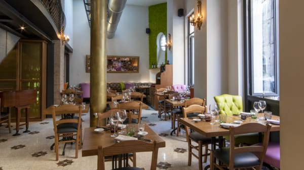 Vista sala - Giulia Restaurant, Roma
