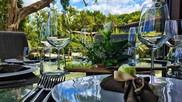 Particolare del tavolo - Ristorante La Quercia - Vallegrande Nature Resort, Cefalù