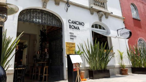 Entrada - Cancino (Roma), Ciudad de México