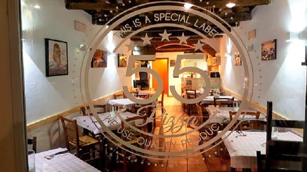 Sala - Pizza 55, Pietrasanta