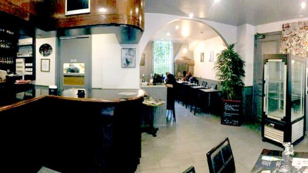 Vue del la salle - La Brasserie Créole Paris, Paris