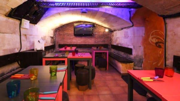 sala - Kobe Burger, Salamanca