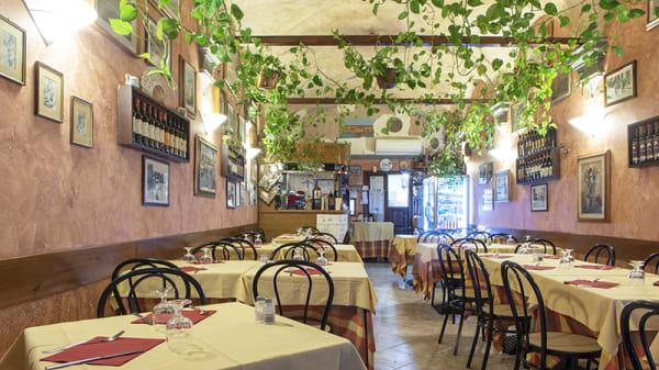 Vista della sala - La Trattoria il Bargello, Florence