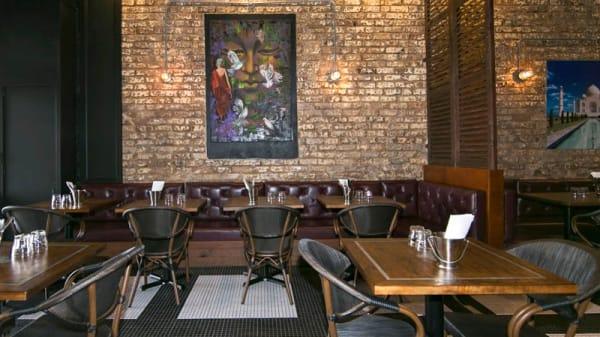 Restaurant Interior - Zeera tadka Indian Restaurant, Lindfield (NSW)