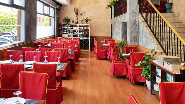 Sala - La Casa del Curry, Madrid