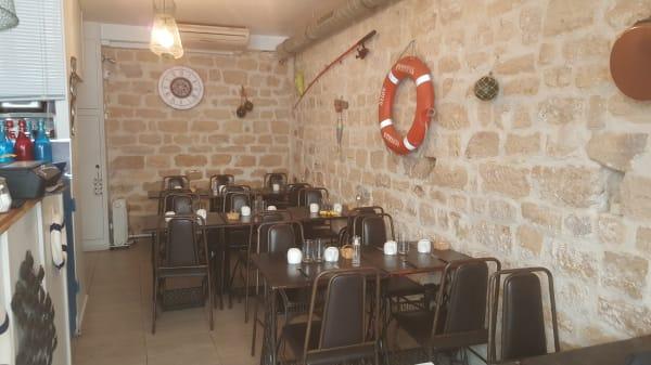 Salle du restaurant - Crêperie A l'Ouest, Paris