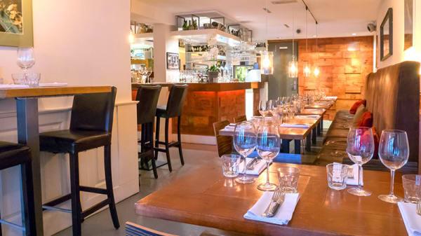 Restaurantzaal - Brasserie SenT, Ámsterdam