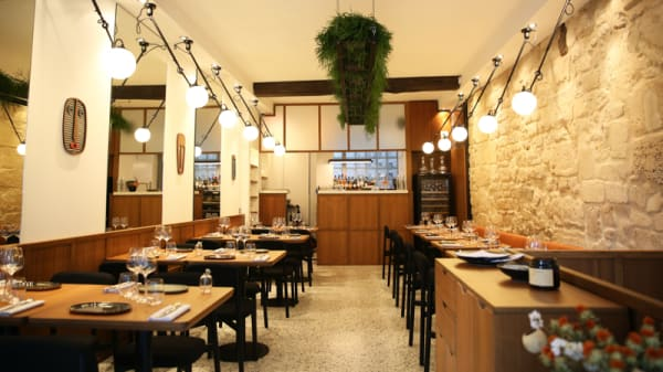 Salle du restaurant - Hébé, Paris