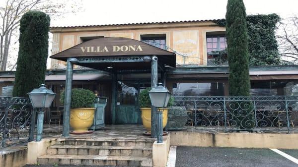 Entrée - Villa Dona, Marseille