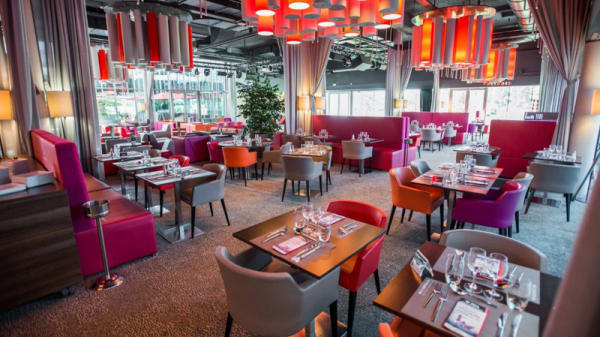 Vue du restaurant - Le Comptoir JOA - Montrond-les-Bains, Montrond-les-Bains