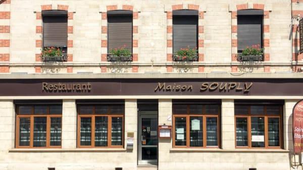Façade - Maison Souply, Châlons-en-Champagne