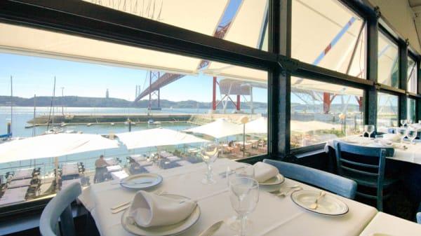 Vista sala superior - 5 Oceanos - Docas, Lisboa