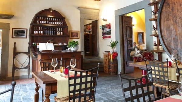 Interno - Taverna Squarcialupi, Castellina In Chianti