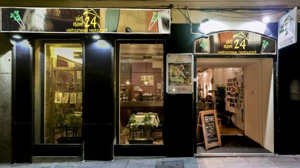 Portada  - Restaurante Vietnam24, Madrid