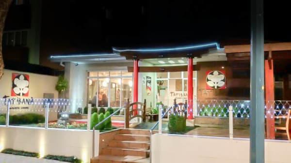 fachada do restaurante - Tatibana Japanese Cuisine, Curitiba