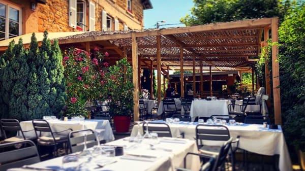 Terrasse & Pergola - Hôtel de la Gare, Couzon-au-Mont-d'Or