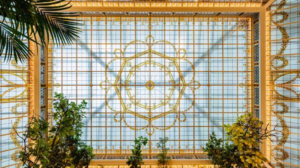 Vue de l'intérieur - L'Officine du Louvre – Hôtel du Louvre, Paris