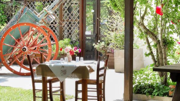 terrazza-giardino - Agriturismo Malapezza