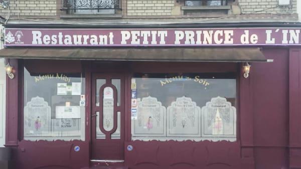 façade - Le Petit Prince de l'Inde, Franconville