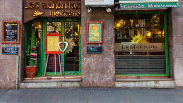 Vista entrada - Las Mañanitas, Barcelona